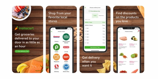 How much does it cost to develop an app like Grofers and Instacart