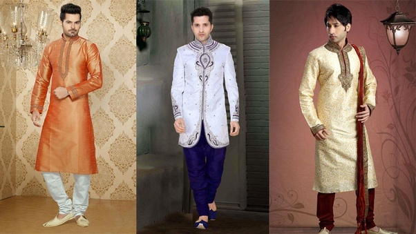 813b9308d The most preferred outfit in an Indian wedding for a male guest is Kurti or  sherwani. But eventually, it all depends on what relationship you have with  the ...