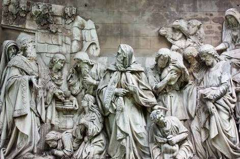 what is the difference between low relief and high relief sculpture