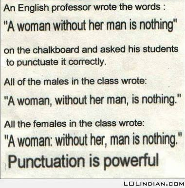 all punctuation marks and their uses