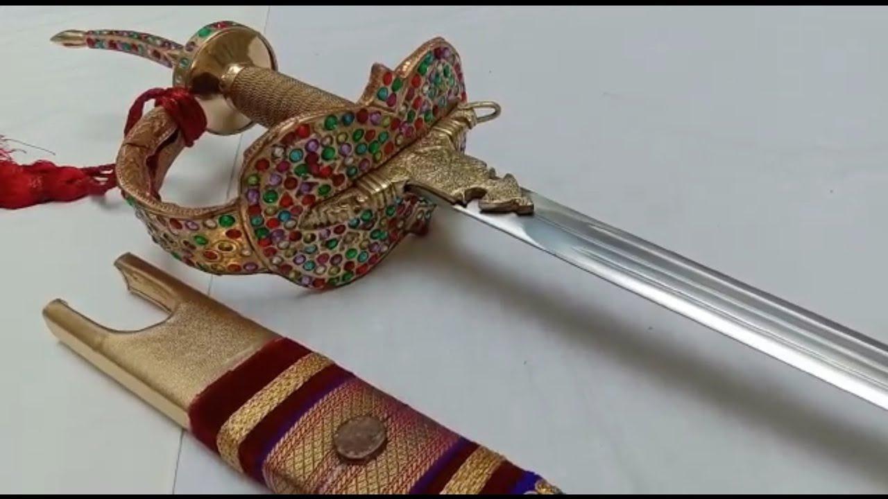 Where is Shivaji Maharaj's sword now How does it look   Quora