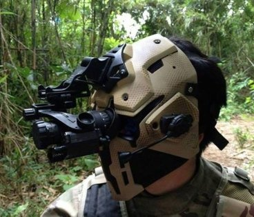 Could a facemask be designed to deflect bullets? - Quora