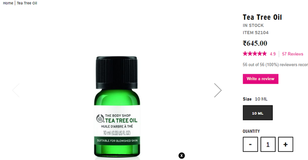 Is tea tree oil available in India? - Quora
