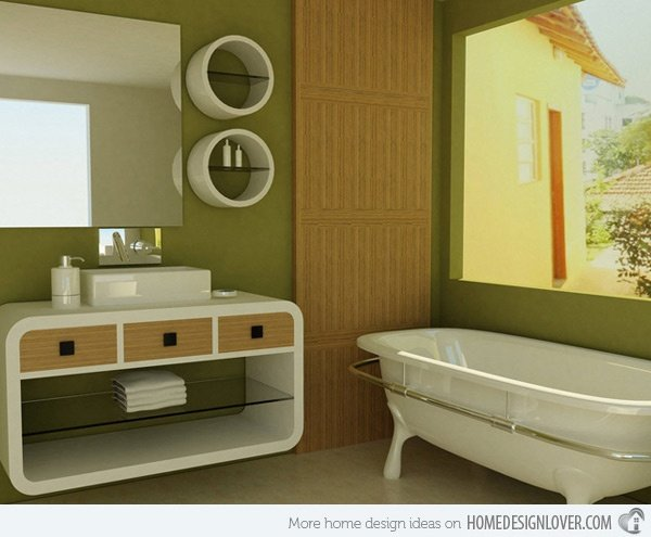 The Power Of Natural Light Will Enhance Your Bathroomu0027s Look. Choose To Add  Bigger Windows And Light Coloured And Breezy Curtains That Will Let The  Sunlight ...