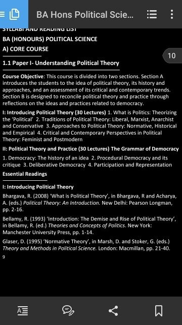 Which is the best book of political science for a ba student in go to dus website download the syllabus see the essential reading go and read all recommended books by now you can write a research paper fandeluxe Choice Image