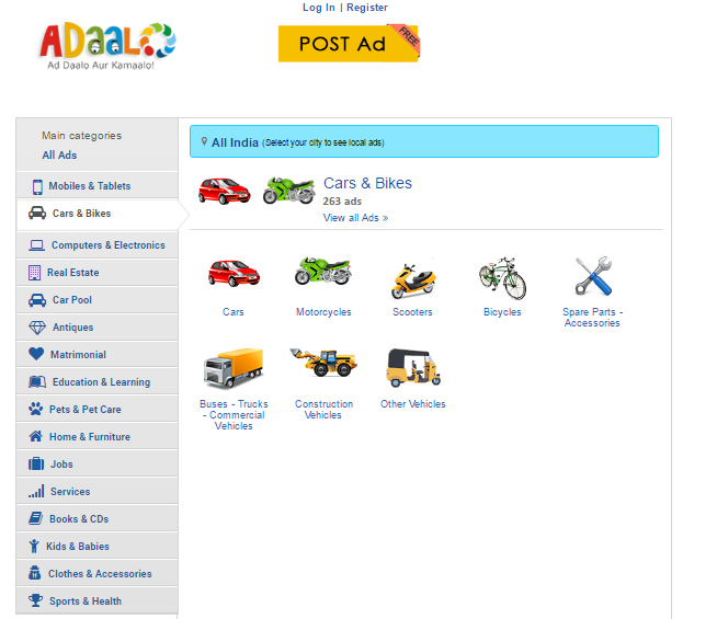 Which is the best alternative site of OLX and Quikr for free