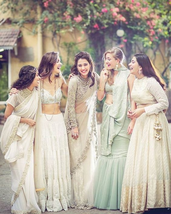 0dde16750e Weddings: What are good ways to choose bridesmaid dresses? - Quora