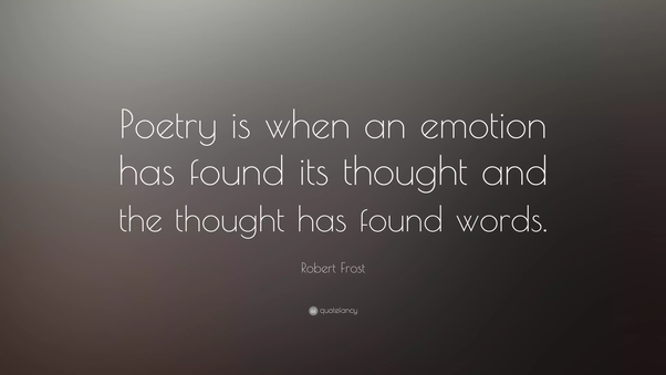 Which is the best topic to write a good poem? - Quora