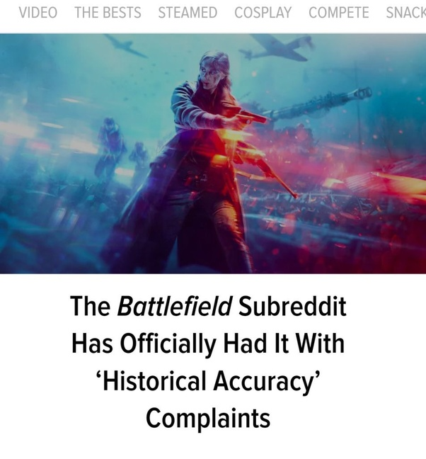 Why are gamers upset with Battlefield 5? - Quora