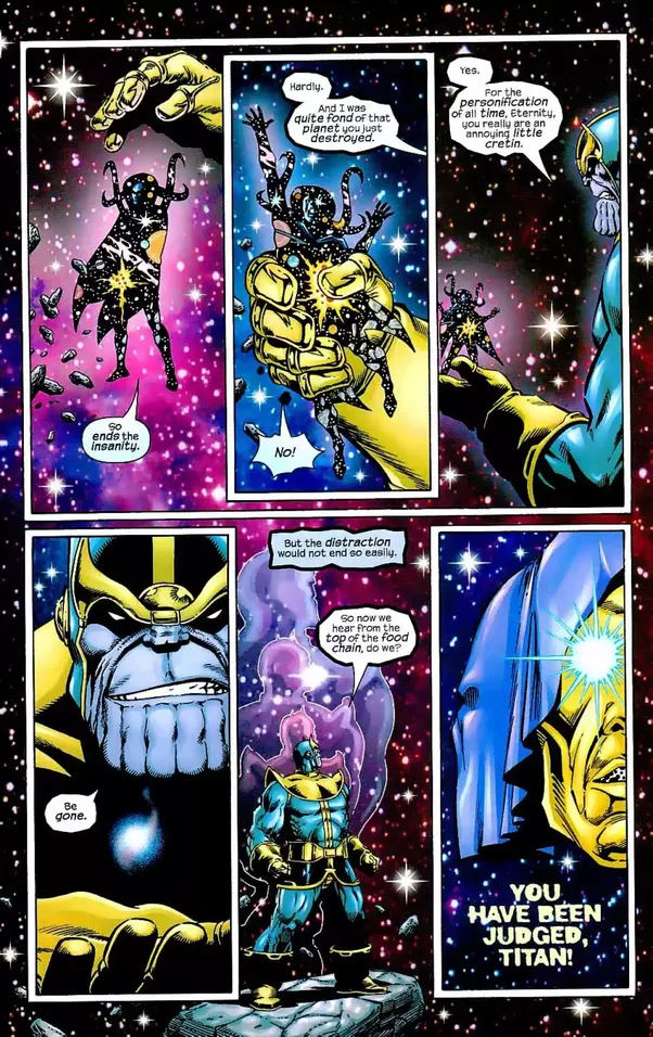 thanos vs odin