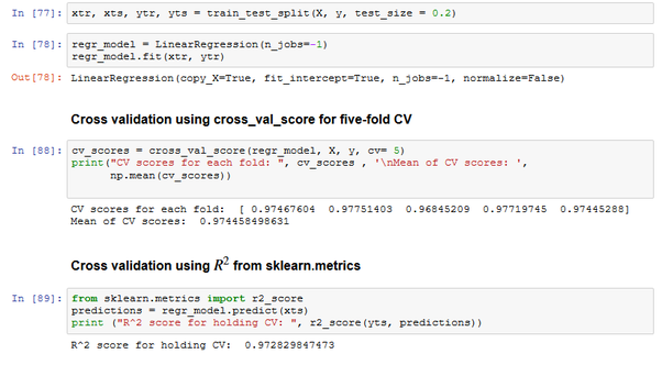 What does sklearn cross_val_score do in a regression problem? - Quora