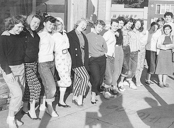 1950s teen culture 1950s Teenager