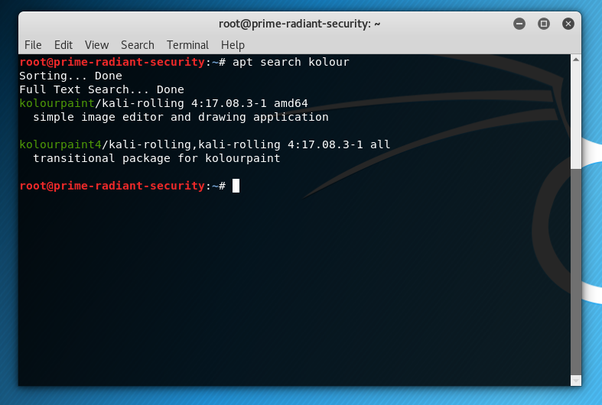 How to install applications in Kali Linux - Quora