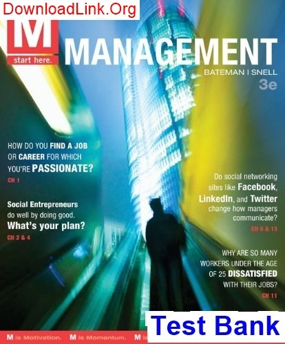 Where can I download the M  Management 3rd Edition Bateman