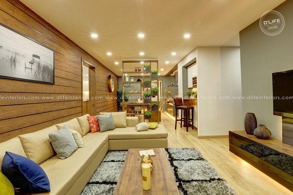 What Are Some Best Interior Design Ideas For A 3 Bhk Flat Quora