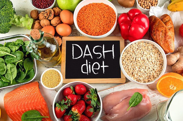 key components of the dash diet
