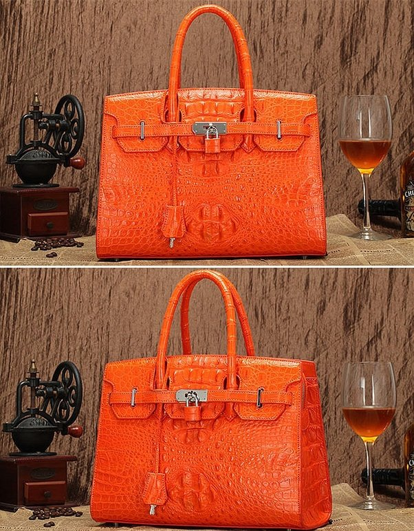 If You Have Just Bought A Genuine Crocodile Handbag For Only 200 300 Or 600 Euros Dollars Probably Been Cheated Because Your Is