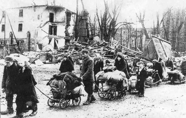 Osterode Ostpreußen 1945
