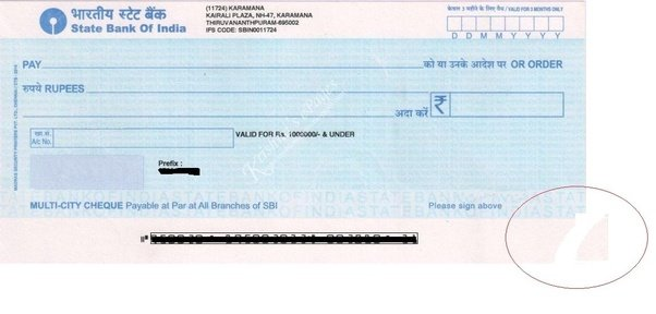 If a check is torn slightly in one of its corners, is it still acceptable? - Quora