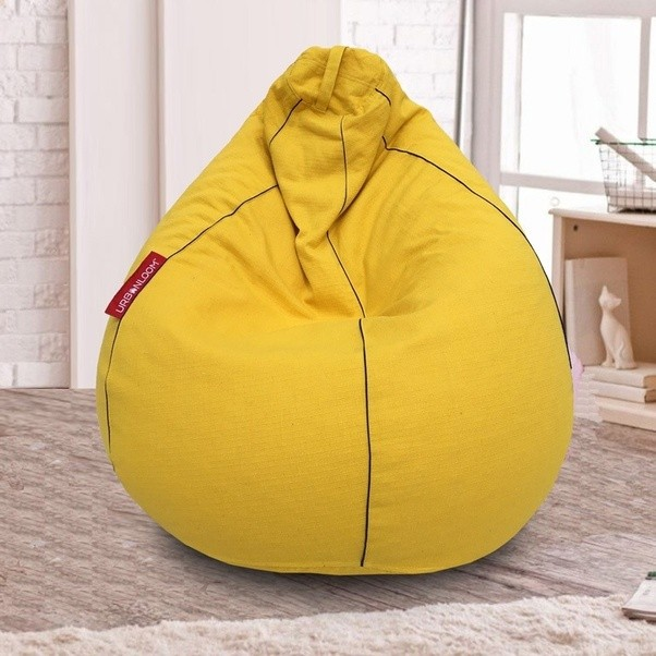 Urbanloom Bean Bags Have A Perfect Height To Base Diameter Ratio Ideal For  A Good Back Support.