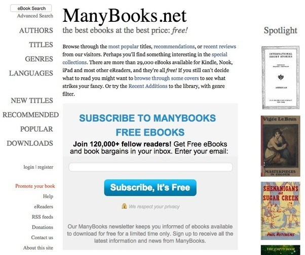 Website recommendations where can i download free e books in pdf manybooks provides free ebooks for your pda ipod or ebook reader you can randomly browse for a ebook through the most popular titles recommendations or fandeluxe Image collections