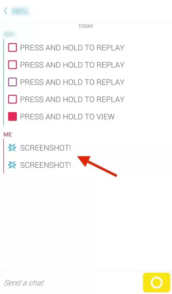 What Happens If I Take Screenshots From Snapchat Quora