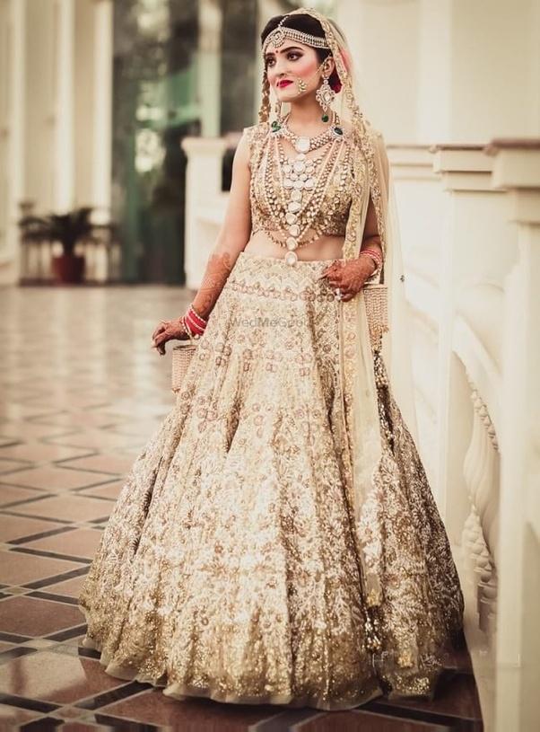 5bc121e69d7 What are the best bridal lehenga trends  - Quora