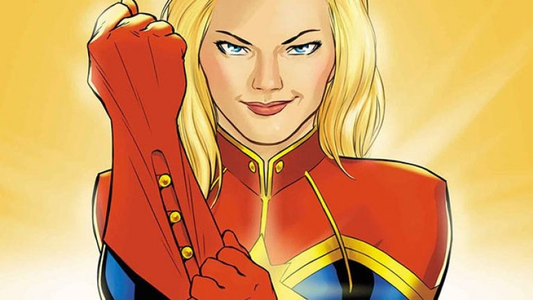 Why is Captain Marvel a boy in the comics but is a girl in the