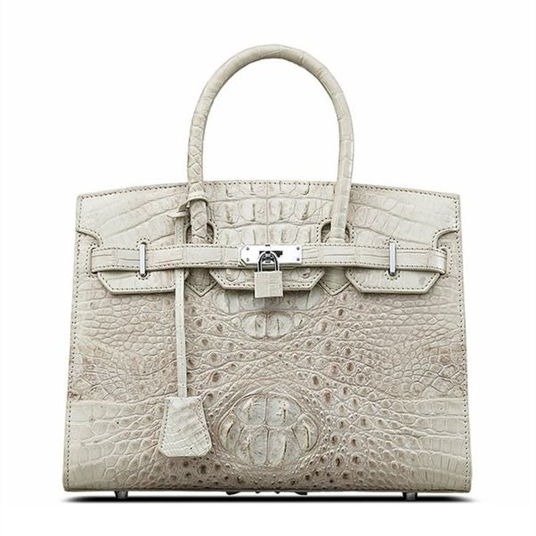 It Is Made With Genuine Exotic Leather This Skin Will Have Been Illegally Imported Not Respecting The Rules Imposed By Cites To Sauard Species