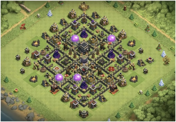 what is the best clash of clans th9 base