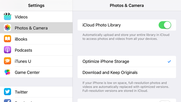 how to delete photos from my iphone but keep them in icloud quora