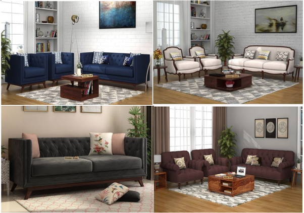 a living room which plays a critical role in the interior of the home is incomplete without a sofa set so it is extremely important that you choose the