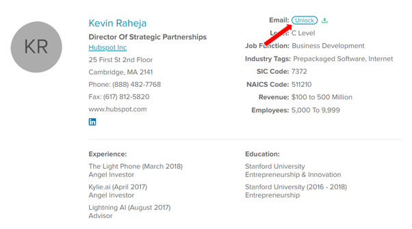 How to find an accenture employee's email address without
