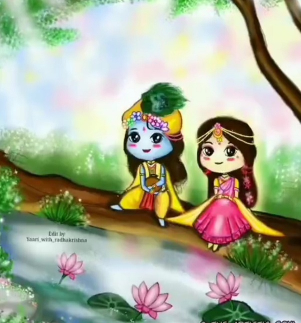 What Are Some Beautiful Pictures Of Radha Krishna Quora