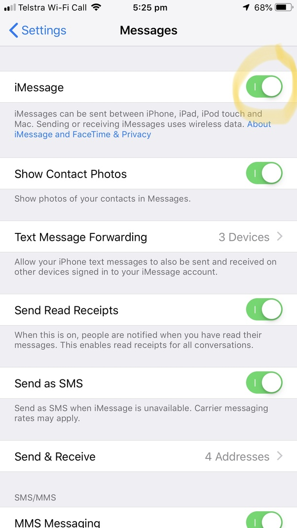 Why are some of my iMessages green? - Quora