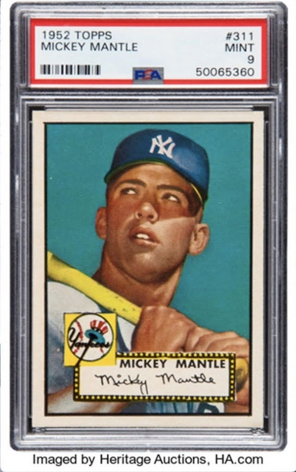 Who Is On The Most Valuable Baseball Card Ever Sold Quora
