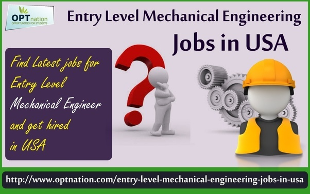 how to get mechanical engineering job in usa