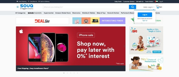 What are recommended online shopping sites from Dubai? - Quora