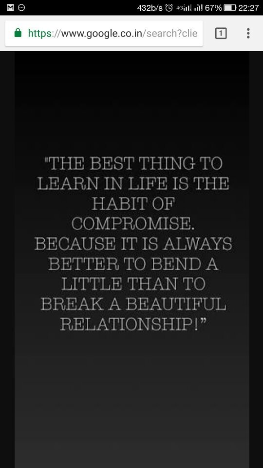 Should you compromise in a relationship