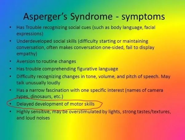 Are adhd and add commonly comorbid with asd and asperger 39 s for Motor planning disorder symptoms