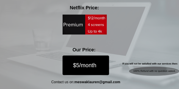 How to get Netflix for one month at a cheap price - Quora