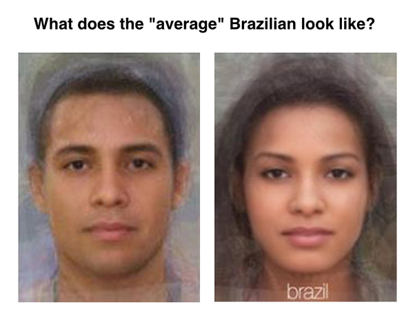 Brazilian women features