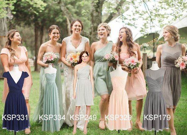 Why do brides sometimes pick ugly dresses for the bridesmaids are find more mismatched bridesmaid dresses style at junglespirit Choice Image