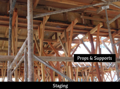 What is the difference between shuttering and centring of concrete