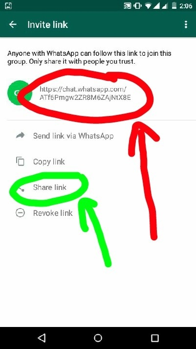 How to add a contact in a WhatsApp group if I am not the admin of