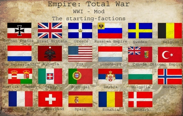 What are the flags of europe in 1914 quora although from a video game the flags are also accurate or common alternatives and easier to read then the above map gumiabroncs Choice Image