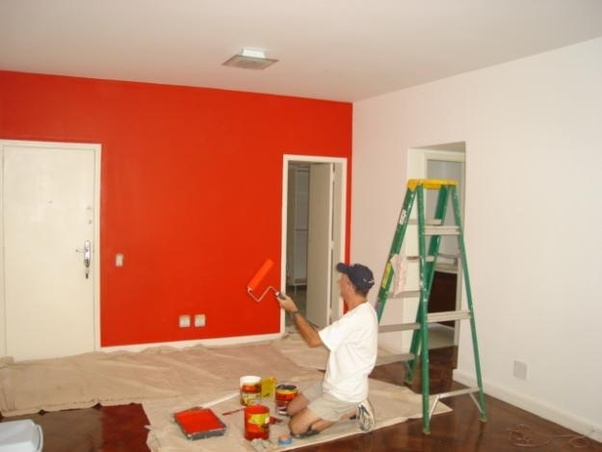 The Average Cost To Paint Interior Of A House Is Between 1 50 And 3 Per Square Foot If You Make Roofs Walloldings