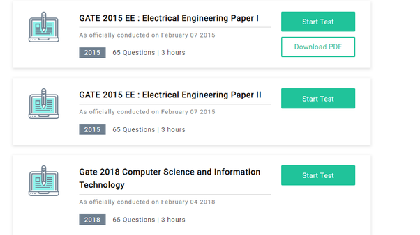 Papers pdf solutions previous gate question cse