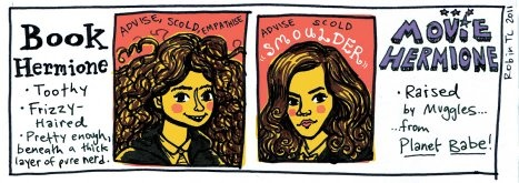 Are there any Harry/Hermione shippers that don't hate the