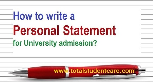 how long does it take to write a personal statement